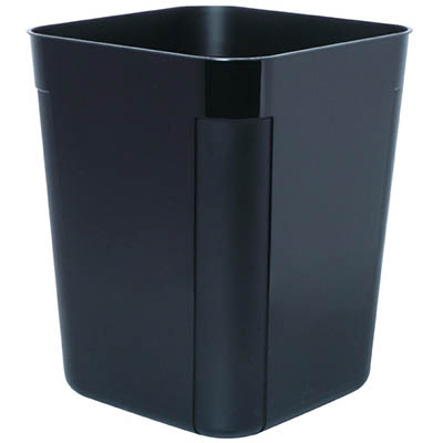 Image for ESSELTE SWS PLASTIC WASTE BIN 30 LITRE BLACK from Page 5 Office National