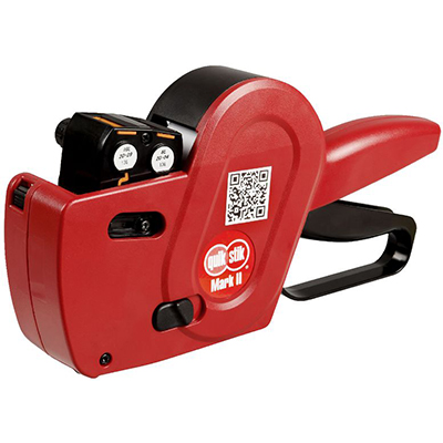 Image for QUIKSTIK MARK II PRICING GUN DOUBLE LINE RED from The Paper Bahn Office National