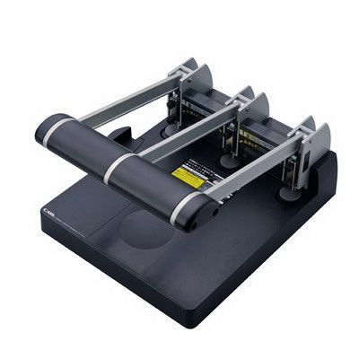 Image for CARL HEAVY DUTY 3 HOLE PUNCH 145 SHEET CAPACITY BLACK from Aztec Office National