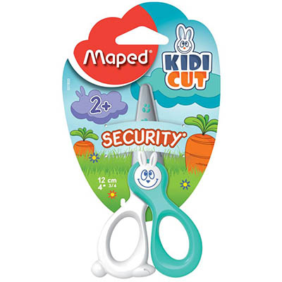 Image for MAPED KIDICUT SAFETY SCISSORS 120MM ASSORTED from OFFICE NATIONAL CANNING VALE, JOONDALUP & OFFICE TOOLS OPD