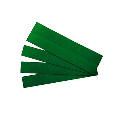 Image for QUARTET STRIPS MAGNETIC 22 X 150MM GREEN PACK 25 from Page 5 Office National