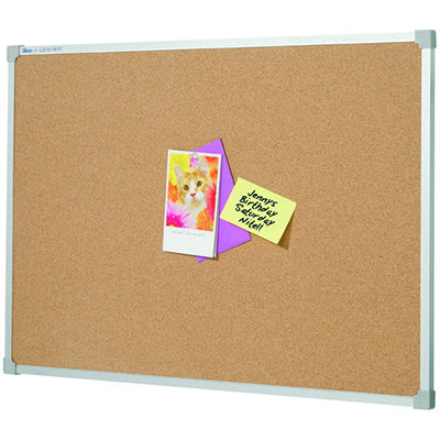 Image for QUARTET PENRITE CORKBOARD ALUMINIUM FRAME 2400 X 1200MM from Page 5 Office National