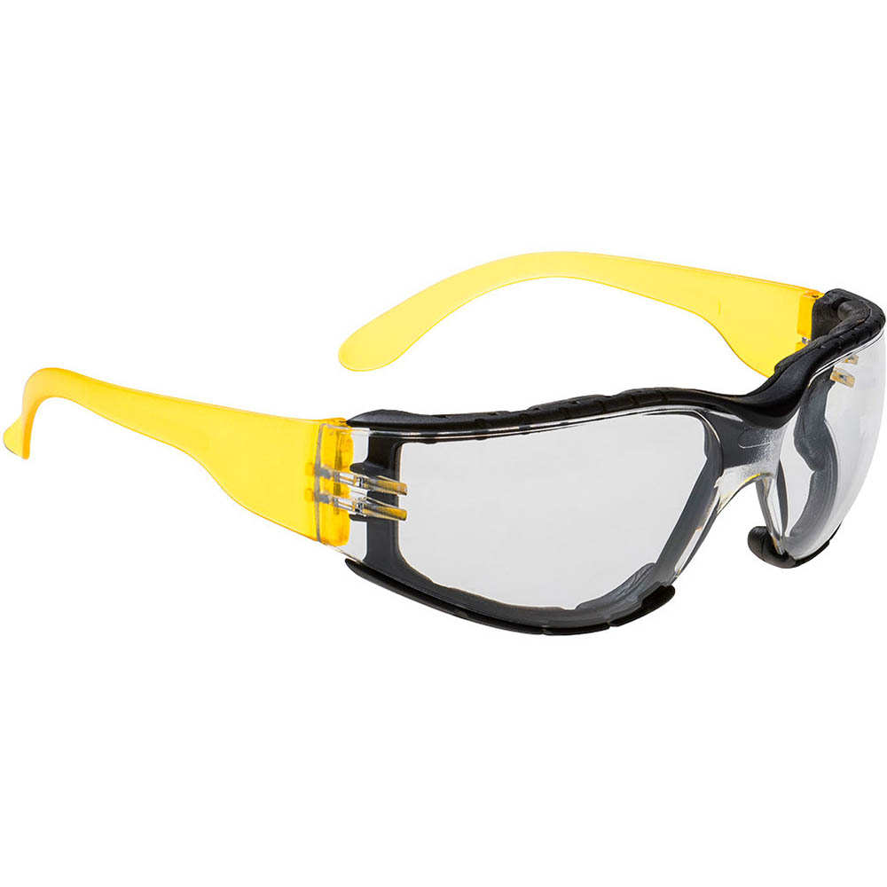 Image for PORTWEST PS32 WRAP AROUND PLUS SAFETY SPECTACLES CLEAR from OFFICE NATIONAL CANNING VALE, JOONDALUP & OFFICE TOOLS OPD