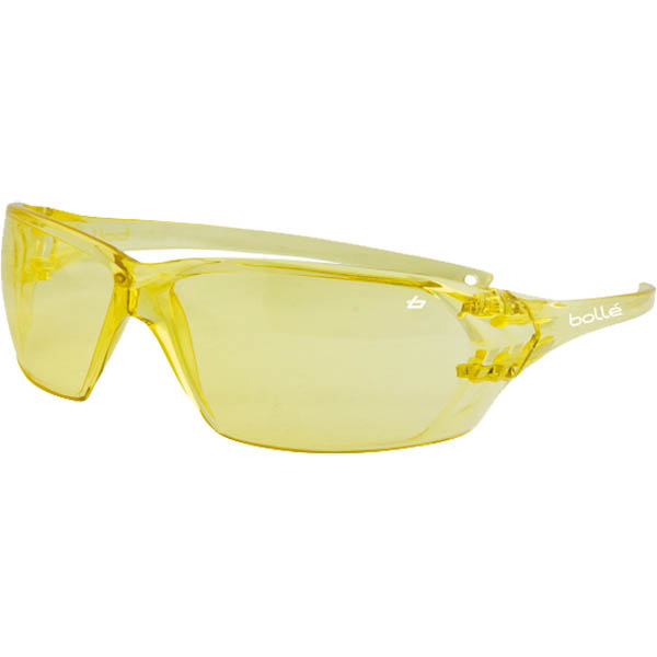Image for BOLLE SAFETY PRISM SAFETY GLASSES AMBER LENS from Aztec Office National