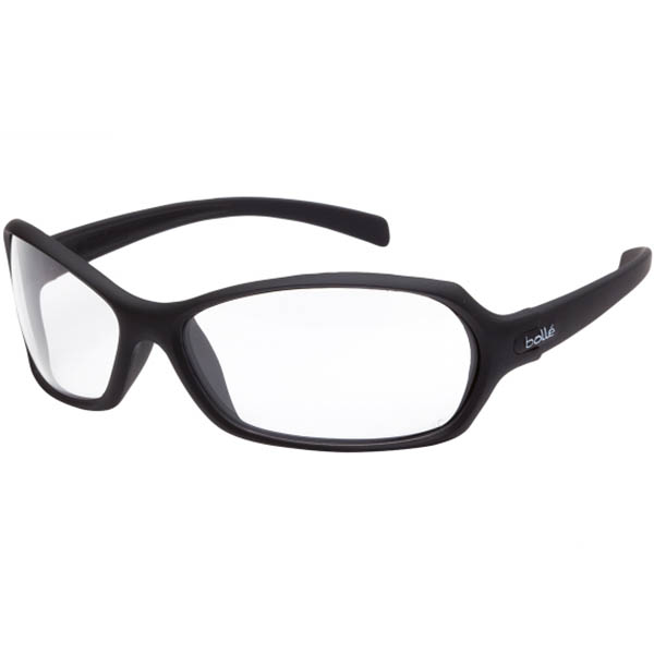 Image for BOLLE SAFETY HURRICANE SAFETY GLASSES BLACK FRAME CLEAR LENS from Aztec Office National