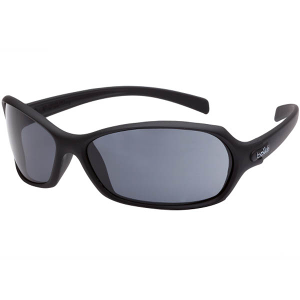 Image for BOLLE SAFETY HURRICANE SAFETY GLASSES BLACK FRAME SMOKE LENS from Aztec Office National