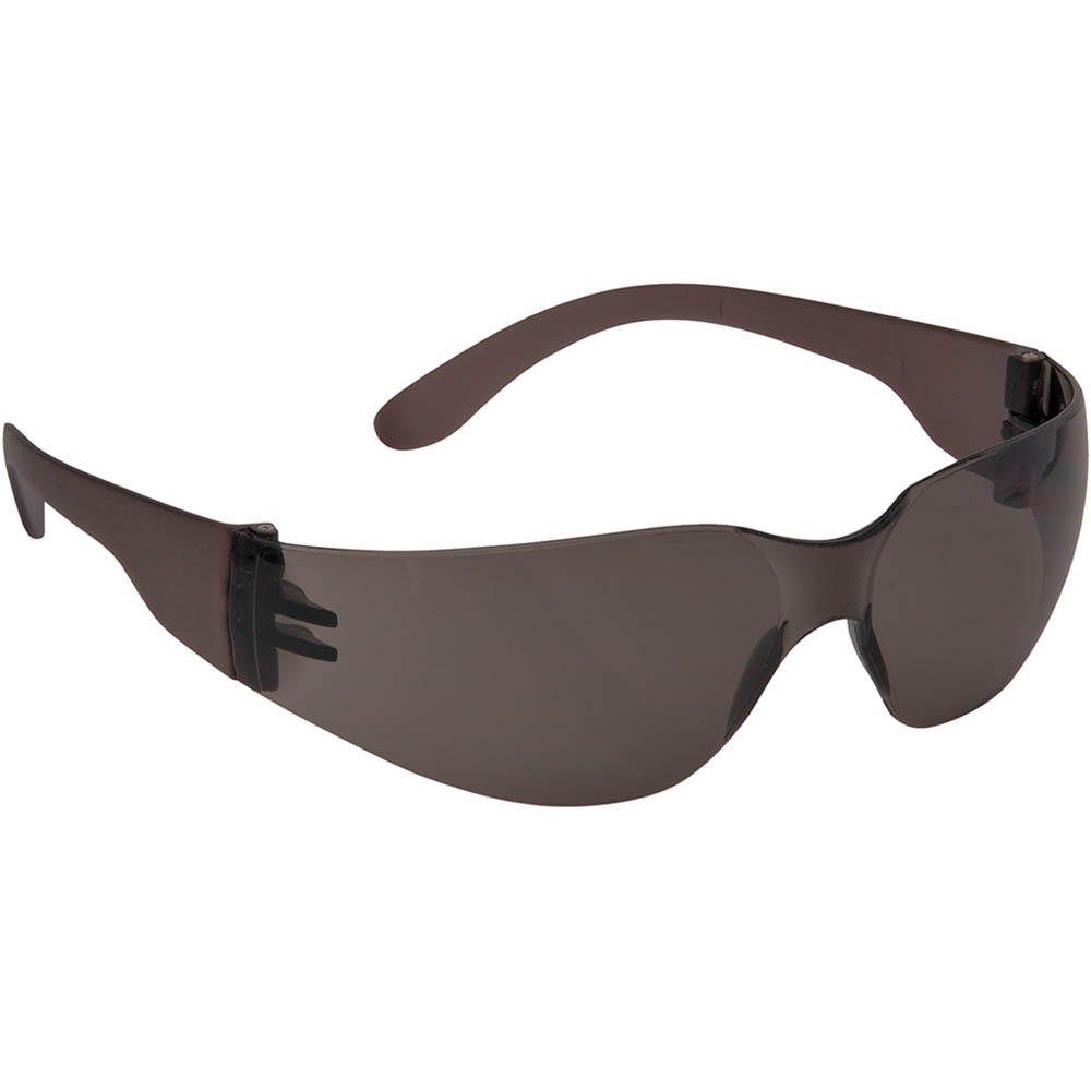 Image for PORTWEST PW32 WRAP AROUND SAFETY SPECTACLES SMOKE from OFFICE NATIONAL CANNING VALE, JOONDALUP & OFFICE TOOLS OPD