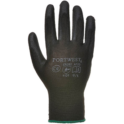 Image for PORTWEST A120 PU PALM GLOVE from OFFICE NATIONAL CANNING VALE, JOONDALUP & OFFICE TOOLS OPD
