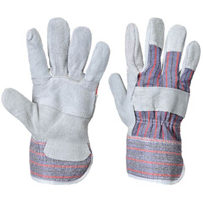 Image for PORTWEST A210 CANADIAN RIGGER GLOVE GREY XL from OFFICE NATIONAL CANNING VALE, JOONDALUP & OFFICE TOOLS OPD
