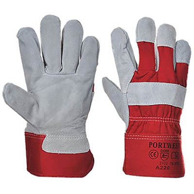 Image for PORTWEST A220 PREMIUM CHROME RIGGER GLOVE RED XL from OFFICE NATIONAL CANNING VALE, JOONDALUP & OFFICE TOOLS OPD
