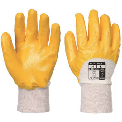 Image for PORTWEST A330 NITRILE LIGHT KNITWRIST GLOVE from OFFICE NATIONAL CANNING VALE, JOONDALUP & OFFICE TOOLS OPD