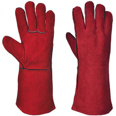 Image for PORTWEST A500 WELDERS GAUNTLET RED XL from OFFICE NATIONAL CANNING VALE, JOONDALUP & OFFICE TOOLS OPD