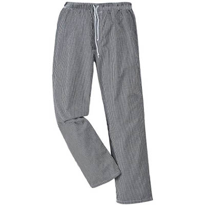 Image for PORTWEST C079 BROMLEY CHEFS TROUSERS CHECK from OFFICE NATIONAL CANNING VALE, JOONDALUP & OFFICE TOOLS OPD