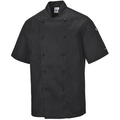 Image for PORTWEST C734 KENT CHEFS JACKET from Emerald Office Supplies