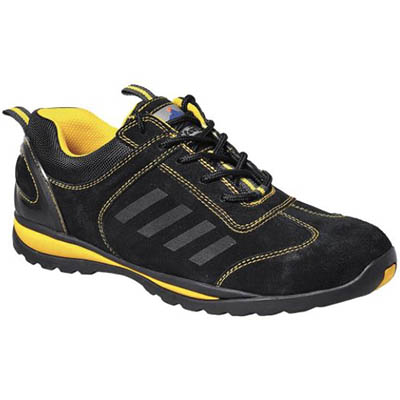 Image for PORTWEST FW34 STEELITE LUSUM SAFETY TRAINER S1P UK SIZE from Axsel Office National