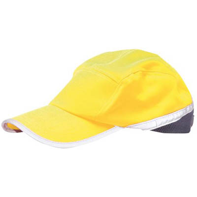 Image for PORTWEST HB10 HI-VIS BASEBALL CAP from Office National Barossa