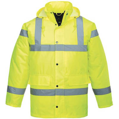 Image for PORTWEST S460 HI-VIS TRAFFIC JACKET from OFFICE NATIONAL CANNING VALE, JOONDALUP & OFFICE TOOLS OPD