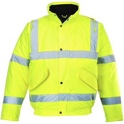 Image for PORTWEST S463 HI-VIS BOMBER JACKET from Office National Capalaba