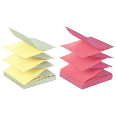 Image for POST-IT R330-U-ALT POP UP NOTES 76 X 76MM ALTERNATING PASTEL COLOURS PACK 12 from Mackay Business Machines (MBM)