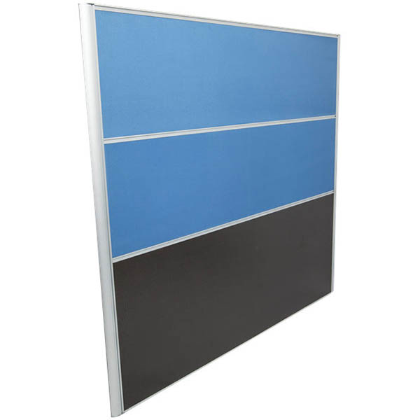 Image for RAPID SCREEN 1500 X 1650MM LIGHT BLUE from Office National Hobart