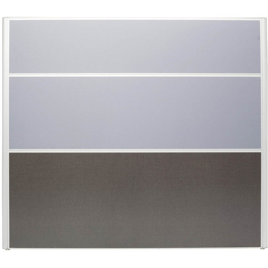 Image for RAPID SCREEN 1500 X 1650MM GREY from Office National Hobart
