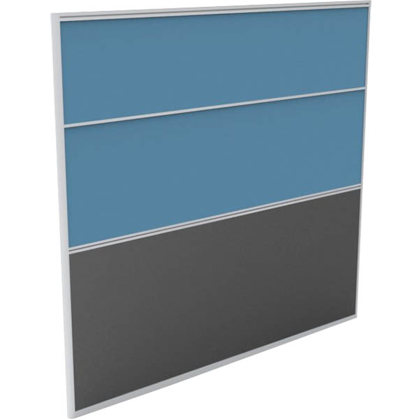 Image for RAPID SCREEN 1800 X 1650MM LIGHT BLUE from Office National Hobart
