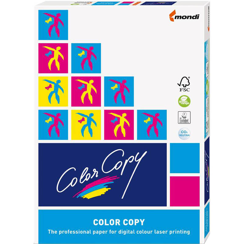 Image for MONDI COLOR COPY A4 COPY PAPER GLOSSY COATED 200GSM WHITE PACK 250 SHEETS from Office National Capalaba