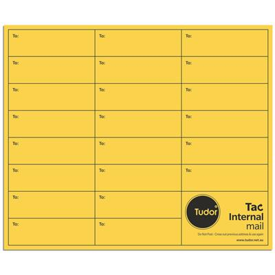 Image for TUDOR ENVELOPES INTEROFFICE POCKET TAC SEAL 100GSM 305 X 255MM GOLD BOX 250 from Mackay Business Machines (MBM)