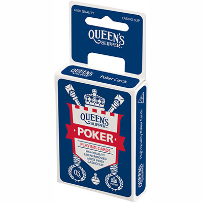 Image for QUEENS SLIPPER PLAYING CARDS POKER 52S LARGE IMAGE PACK from OFFICE NATIONAL CANNING VALE, JOONDALUP & OFFICE TOOLS OPD