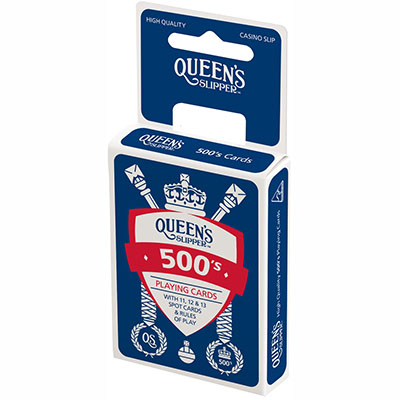 Image for QUEENS SLIPPER PLAYING CARDS 500S SINGLES PACK from Office National Capalaba
