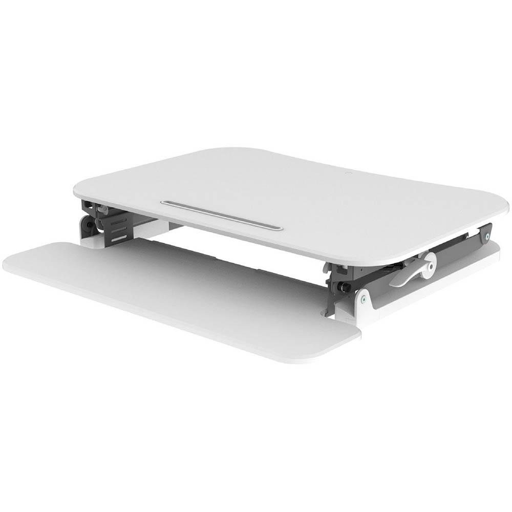Image for ARISE DESKALATOR MEDIUM 890 X 790MM WHITE from Office National Capalaba