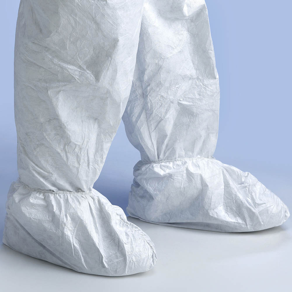 Image for TRAFALGAR TYVEK OVERSHOE WHITE from OFFICE NATIONAL CANNING VALE, JOONDALUP & OFFICE TOOLS OPD
