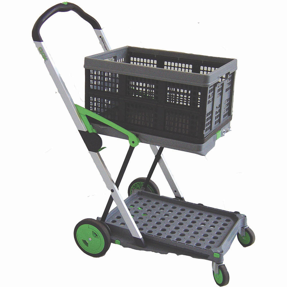 Image for BRADY CLAX FOLDING UTILITY CART TROLLEY from Office National Capalaba
