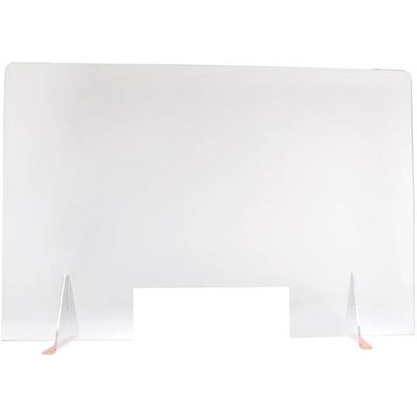 Image for TRAFALGAR ACRYLIC SNEEZE GUARD SCREEN 1200 X 800MM LARGE from Pirie Office National