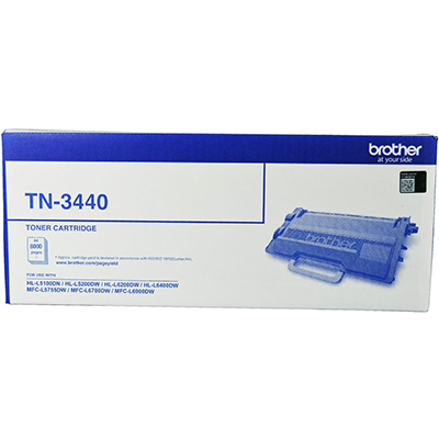 Image for BROTHER TN3440 TONER CARTRIDGE BLACK from Paul John Office National