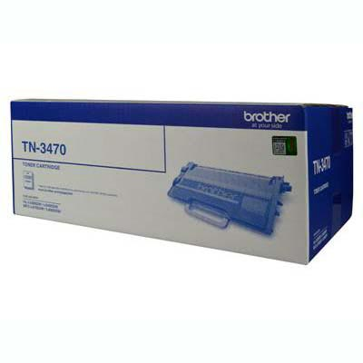 Image for BROTHER TN3470 TONER CARTRIDGE SUPER HIGH YIELD BLACK from City Stationery Office National