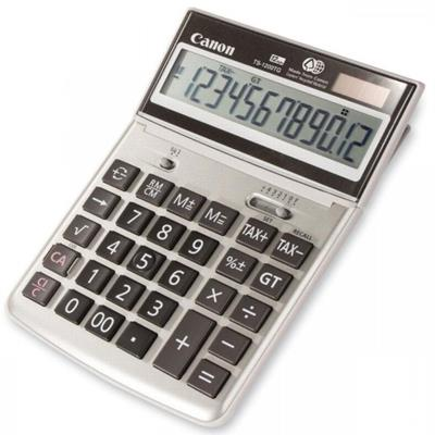 Image for CANON TS-1200TG DESKTOP CALCULATOR 12 DIGIT GREY from Office National Capalaba