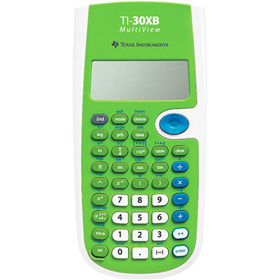 Image for TEXAS INSTRUMENTS TI-30XB MULTIVIEW SCIENTIFIC CALCULATOR from Our Town & Country Office National