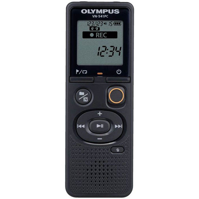 Image for OLYMPUS VN-541PC DIGITAL VOICE RECORDER BLACK from Office National Capalaba