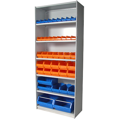 Image for APC STEEL UNI SHELVING 7 SHELVES 2175 X 1200 X 300MM CYBER GREY from OFFICE NATIONAL CANNING VALE, JOONDALUP & OFFICE TOOLS OPD
