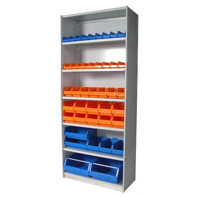 Image for APC STEEL UNI SHELVING 7 SHELVES 2175 X 1200 X 400MM CYBER GREY from OFFICE NATIONAL CANNING VALE, JOONDALUP & OFFICE TOOLS OPD