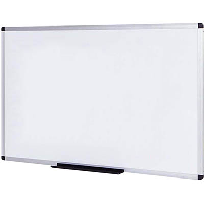 Image for INITIATIVE MAGNETIC WHITEBOARD ALUMINIUM FRAME 1200 X 900MM from Emerald Office Supplies