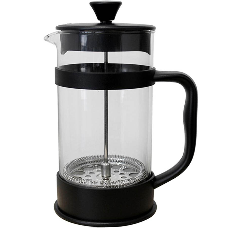 Image for CONNOISSEUR COFFEE PLUNGER 8 CUP 1 LITRE BLACK from Pirie Office National