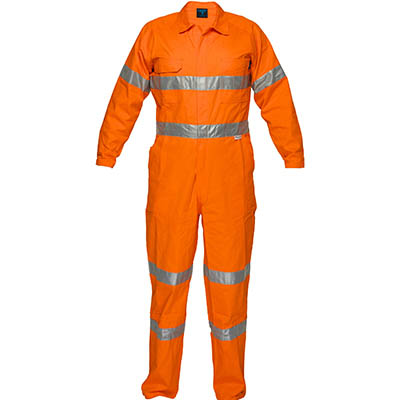 Image for PRIME MOVER MA922 LIGHTWEIGHT COVERALL WITH METAL STUD CLOSURE AND TAPE from Emerald Office Supplies