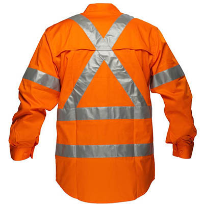 Image for PRIME MOVER MX301 COTTON DRILL SHIRT LIGHTWEIGHT WITH CROSSBACK TAPE from OFFICE NATIONAL CANNING VALE, JOONDALUP & OFFICE TOOLS OPD