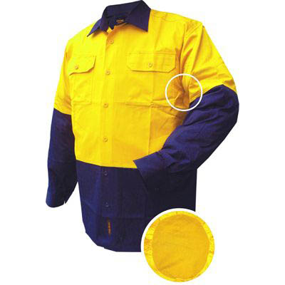 Image for PRIME MOVER MS801 COTTON DRILL SHIRT LONG SLEEVE LIGHTWEIGHT 2 TONE from OFFICE NATIONAL CANNING VALE, JOONDALUP & OFFICE TOOLS OPD