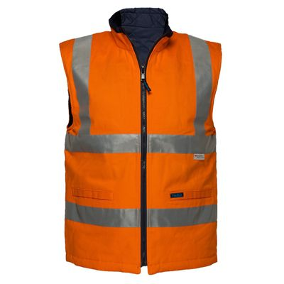 Image for PRIME MOVER MV278 COTTON VEST REVERSIBLE DAY/NIGHT from OFFICE NATIONAL CANNING VALE, JOONDALUP & OFFICE TOOLS OPD
