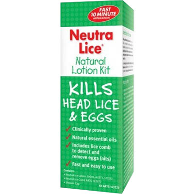 Image for NEUTRALICE NATURAL LOTION KIT 200ML from Office National Hobart