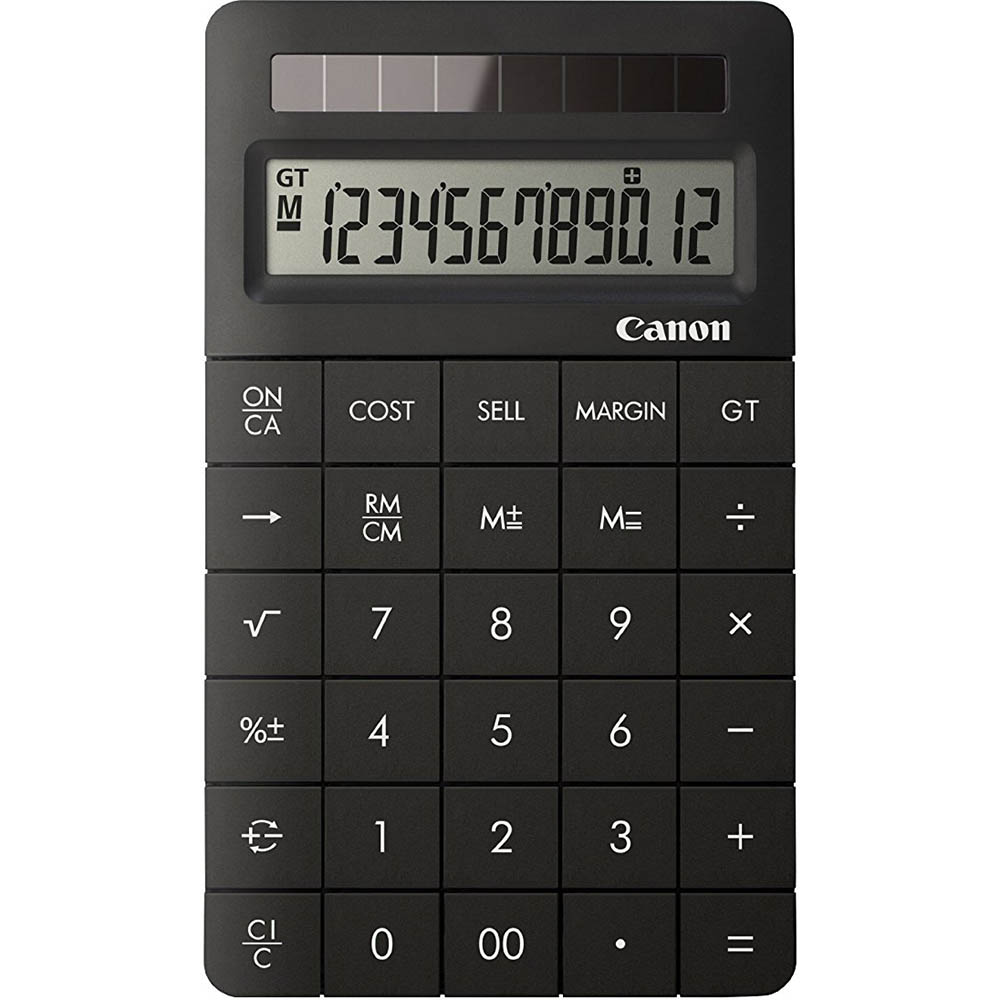 Image for CANON X MARK II DESKTOP CALCULATOR 12 DIGIT BLACK from Office National Capalaba