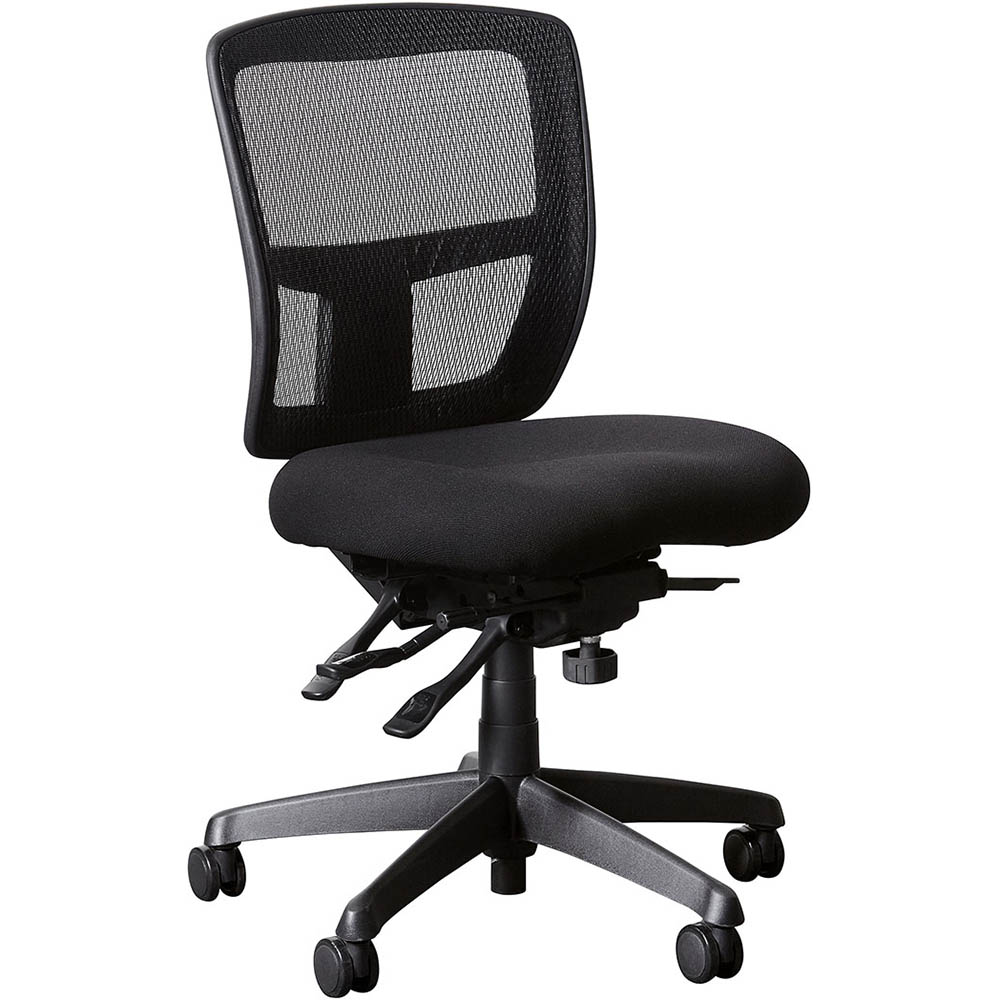 Image for INITIATIVE SERENITY ERGONOMIC HIGH MESH BACK CHAIR BLACK from City Stationery Office National
